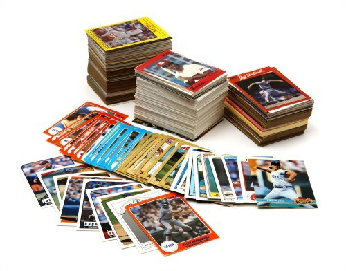 Baseball Card Collector Box With Over 500 Cards by Topps