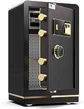 Pistol Safe Box, Fingerprint Safe Or Digital Keypad Cabinet Safe Steel Locking Bolts for Home Office Hotel Safe Box