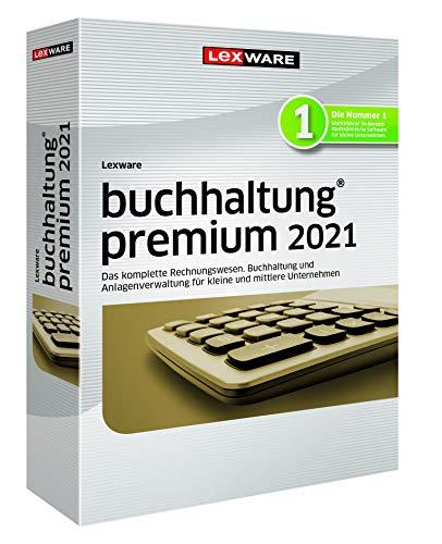 Lexware buchhaltung 2021|premium-Version Minibox (Jahreslizenz)|Einfache Buchhaltungs-Software für Freiberufler, Handwerker, kleine und mittlere Unternehmen|Kompatibel mit Windows 8.1 oder aktueller