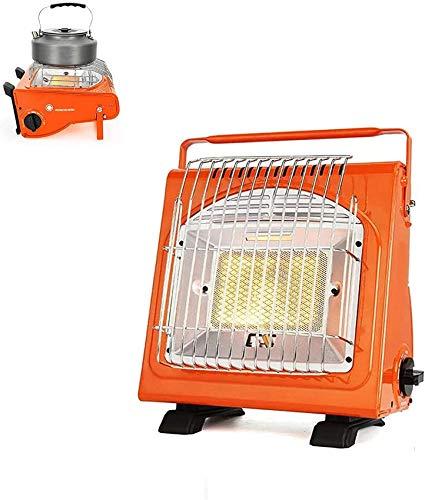 XHCP Calentador portátil, Calentador de Seguridad Multifuncional al Aire Libre, Calentador Ajustable para Tienda de campaña, para Senderismo, Pesca en Hielo