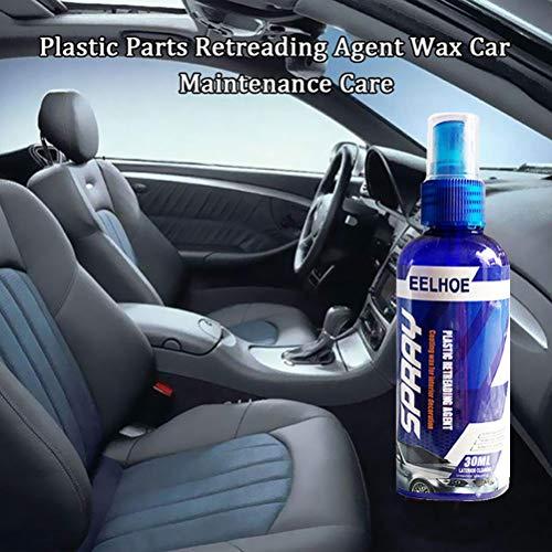 Twakom Kunststoff-Reiniger, Gummi-Reiniger, Sanierungsmittel Reiniger fürs Auto für Kunststoff und Gummi Plastic Parts Retreading Agent