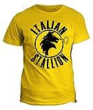 Zoom IMG-2 fashwork tshirt italian stallion boxe