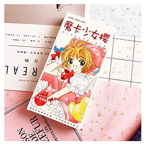180Pcs/Set Anime Cardcaptor Sakura Paper Postcard/Greeting Card/Message Card/Christmas and New Year Gifts