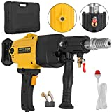 VEVOR 160MM Diamond Core Drill Machine 2180W Wet and Dry Hand Diamond Drill Rig Heavy Duty Core Drill Bit Machine for Diamond Concrete Drilling