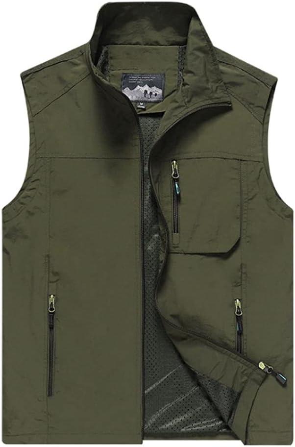 Fishing Vests for Men Men's Waistcoats Vest Kansas City Mall shipfree Mult