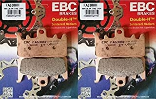 EBC Double-H Sintered Front Brake Pads 2013-2015 BMW R1200GS 2 Sets / FA630HH