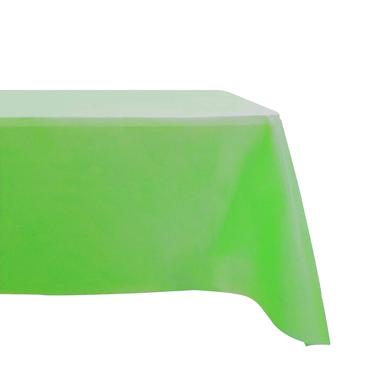 Salsell 5-Pack St Patricks Day Disposable Plastic Tablecloth 54 x 108