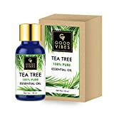 Good Vibes 100% Pure Tea Tree Essential Oil - 10 ml - Cleanses