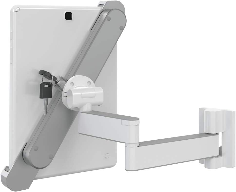 Barkan Lockable Tablet Mount Holder for 8.7-12 inch Devices fits Apple iPad//Air//Mini Fixed Lock and Key Security Kiosk 360 Degree Rotation Bracket Anti-Theft Samsung Galaxy Tab