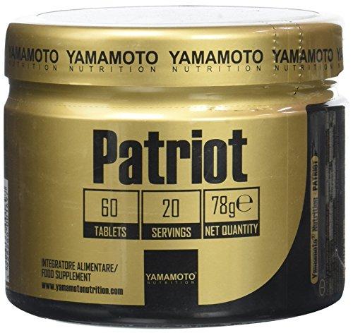 Yamamoto Nutrition Patriot integratore alimentare di glucosamina, metil sulfonil metano, condroitin solfato e altri fattori 60 compresse