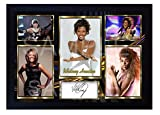 SGH SERVICES Gerahmtes Poster Whitney Houston The Voice