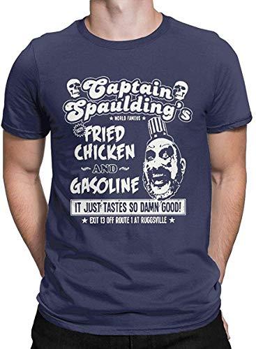 Bigtige Captain Spaulding T Shirt Horror Halloween Tops Tees para Hombres