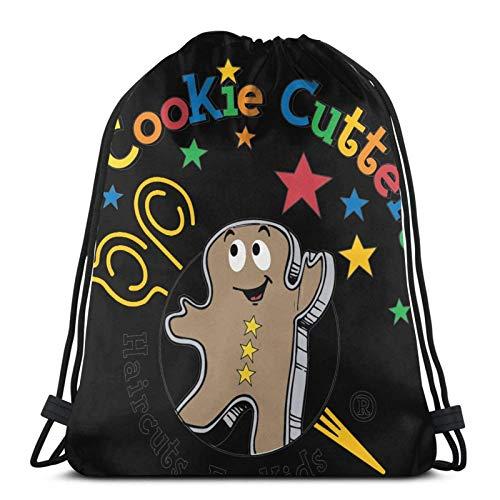 Bolsas con cordón para cortadores de galletas, unisex, con cordón, bolsa de deporte, bolsa grande con cordón, gimnasio, bapa a granel