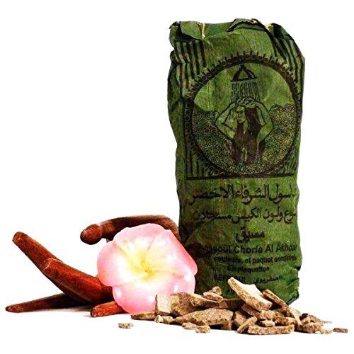 Original Ghassoul Wascherde – Bio Lavaerde aus Marokko für die natürliche Reinigung und Pflege von Haut und Haar und als Gesichtsmaske 500g