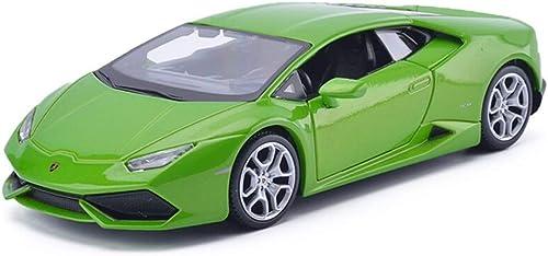 KKD Scale-Modellfahrzeuge Größes Modellauto Lamborghini LP610 Sportwagen Modell 1 24 Modell-Druckguss Modell Spielzeug Modellsammlung Dekoration Sammlung Hobby Mini Fahrzeuge