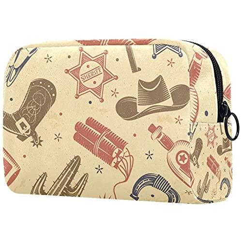 Neceser de viaje, bolsa de viaje impermeable de alta calidad con cremallera mejorada Do Yoga Animal Alpaca 18,5 x 7,5 x 13 cm