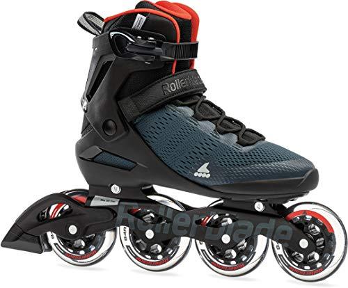Rollerblade SPARK 90 Inline Skate orion blue/spicy orange, 45.5