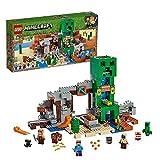 LEGO 21155 Minecraft La Mina del Creeper, Juguete de Construcción para Niños a Partir de 8 años con 4 Mini Figuras