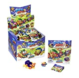 Superzings - Serie 5 - Display de 24 AeroWagons con figuras SuperZings (Colección completa) ,...