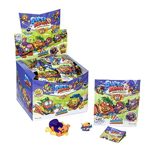 Superzings - Serie 5 - Display de 24 AeroWagons con figuras SuperZings (Colección completa)