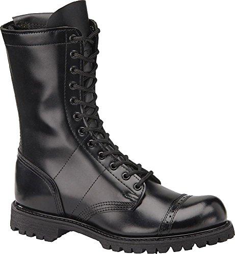 CorcoranSide Zipper Boot-M - Stiefel mit seitlichem Reißverschluss-m Herren, Schwarz (schwarz), 45.5 EU D(M)