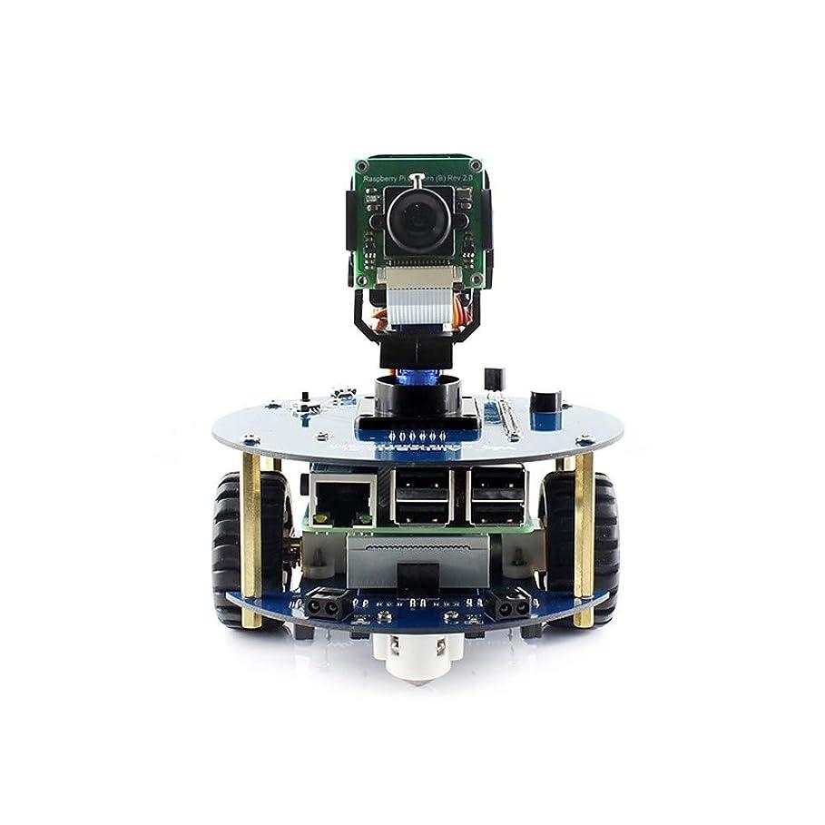 JackChim wavehareアルファボット2-pi(en)アルファボット2ロボットビルドキットforラズベリーパイ3モデルb