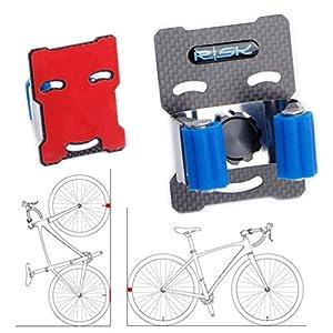 BESPORTBLE Bicicleta Bicicleta Suspensión de Pared Montaje en Pared Bicicleta Estante Bicicleta Gancho Soporte para Bicicleta Interior Bicicleta Almacenamiento Estante