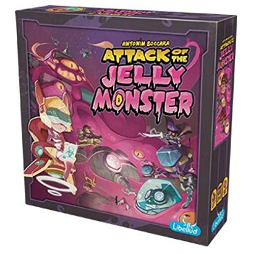Asmodee LIB0007 Attack of the Jelly Monster, Spiel