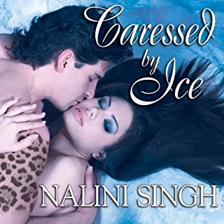 Caressed by Ice audiobook cover art