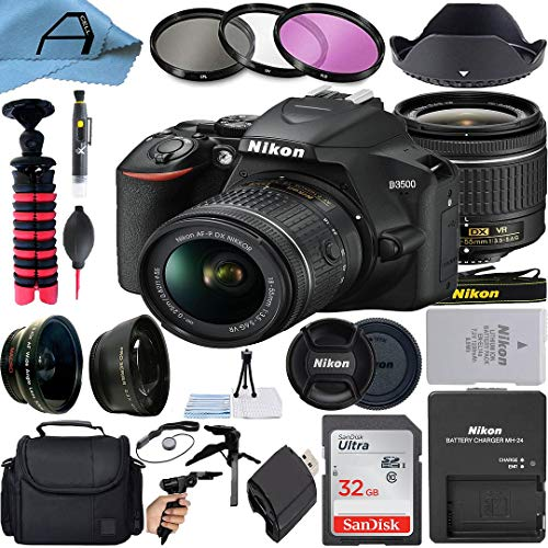 Nikon D3500 DSLR Camera 24.2MP Sensor with NIKKOR...
