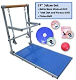 Supreme Toning Tower EXTRA DVDs PACKAGE | All in 1 Pilates and Barre Reformer for Your Home | Tone...