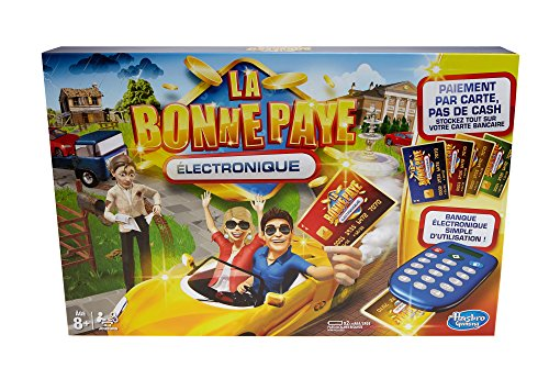 Hasbro La Bonne Paye Electronique – Jeu de Societe Familial – Jeu de Plateau – Version française