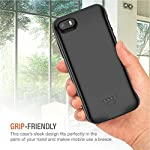 Battery Case For Iphone 55sse 4000mah Portable Rechargeable Battery Pack Charging Case Compatible With Iphone 55sse 40 Inch Extended Battery Charger Case Black Not Fit 5c
