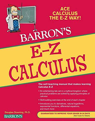 E-Z Calculus (Barron's Easy Way)