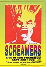 Screamers - Live in San Francisco September 2nd, 1978