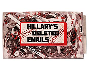 Gears Out Hillary s Deleted Emails - Hillary s Emails Gag Gift - Funny Hillary Gifts - Presidential Election 2016 - Fake Emails Gag - Hillary Clinton Gag Gift