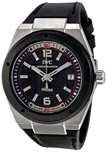 IWC IW323401 - Orologio da polso uomo, tessuto, colore: nero