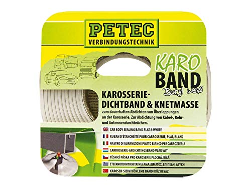 PETEC BUTHYL DICHTBAND 20 MM X 3 M, WEISS, SB- 87530