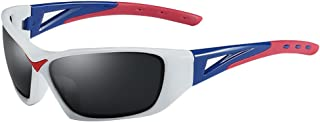 Polarized Sports Sunglasses for Men Women Cycling Running Driving Fishing Golf Baseball Glasses