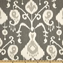 Magnolia Home Fashions UO-170 Java Ikat Pewter Fabric by the Yard