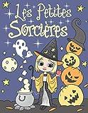 Les Petites Sorcières: Livre de Coloriage Pour Enfants 4-8 Ans   Illustrations de Jolies Sorcières