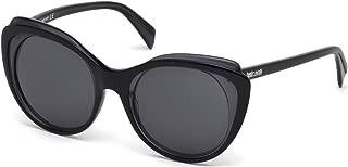 JC740S 01A Black Cat Eye Sunglasses for Womens