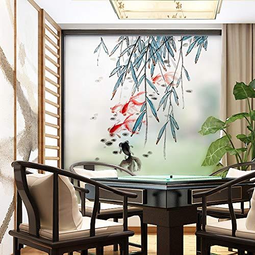 LSMYE Gebeizte statische Frischhaltefolie Film Frosted Opaque Privacy Glasaufkleber Home Decor Digitaldruck B 80x120cm
