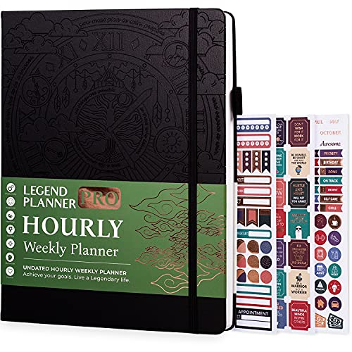 Hardcover Weekly and Daily Planner