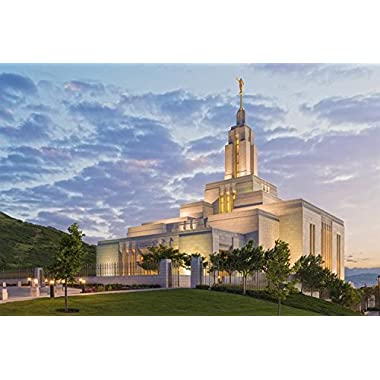 Draper Temple 01 Open Edition Giclée On Canvas 18 X 12 Print Only