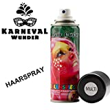 EULENSPIEGEL 819562 - Glitzer Haarspray Multicolor, 125ml
