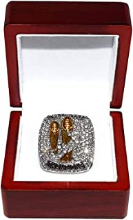 UNIVERSITY OF ALABAMA CRIMSON TIDE (Nick Saban) 2017 CFP NATIONAL CHAMPIONS (Outwork Yesterday) Collectible High-Quality Replica College Football Silver Championship Ring with Cherrywood Display Box
