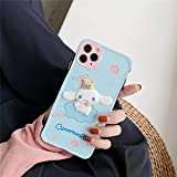 Fitted Case 3D Cartoon Cute Cinnamoroll Soft Silicone Case for iPhone 11 Pro X XS Max 7 8 Plus XR Anime Japan cat My Melody Cover_by Yearinspace