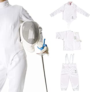 LEONARK 350NW Fencing Uniform Suit - Pants Jacket Vest Set for Foil Epee Saber