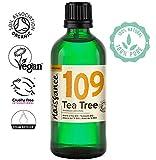 Naissance Aceite Esencial de Árbol de Té BIO n. º 109 – 100ml - 100% Puro, vegano, certificado ecológico y no OGM